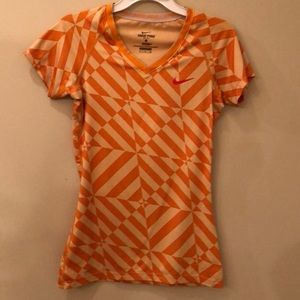 Nike Pro Dri-Fit, fitted athletic top size small